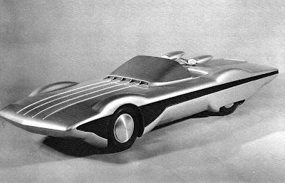 Future Car (1966), retro-futuristic car, 60's