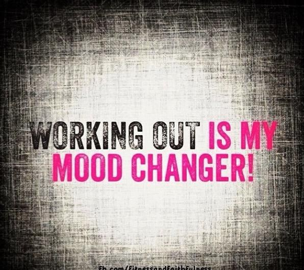 So true...working out makes me feel good about mys...
