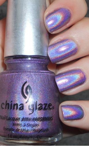 Polished Criminails: Swatch: China Glaze - IDK (Ha...