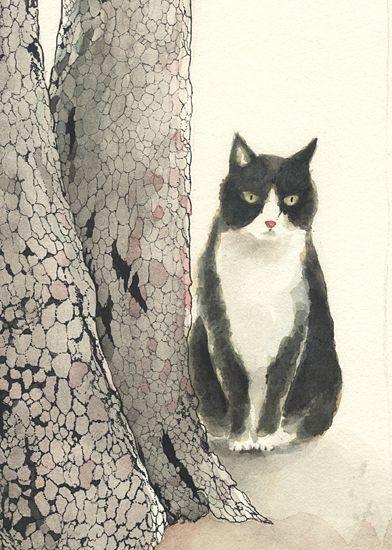Japanese - BobTail Kitty ~ ~  Midori Yamada. &#214...