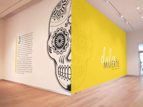 Dulce Muerte Museum Exhibition and Promotional Des...