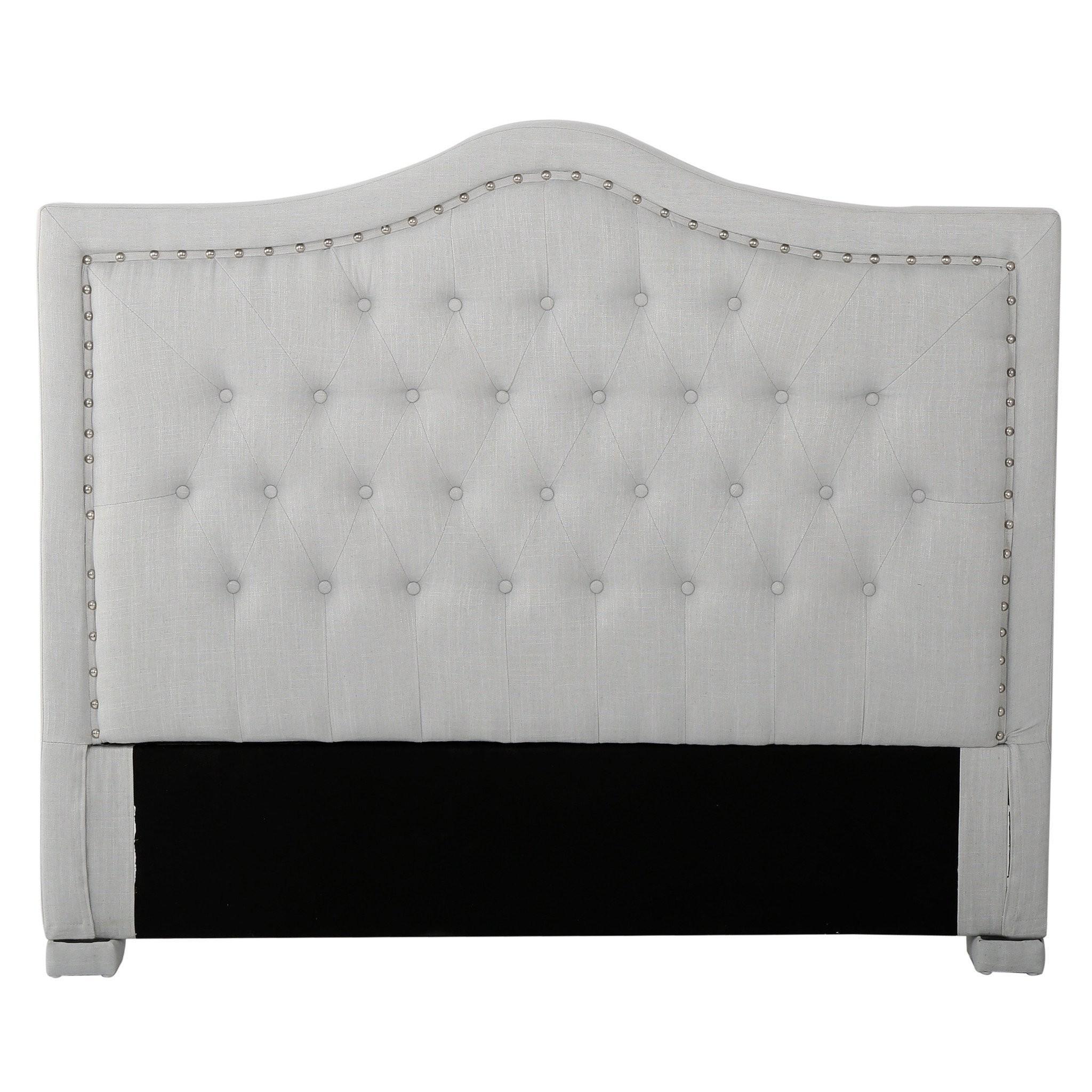 Denise Austin Home Ronan Full/ Queen Upholstered T...