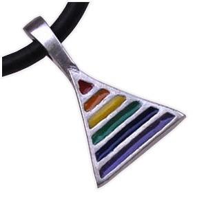 Rainbow Pride Triangle - Gay & Lesbian LGBT Pr...