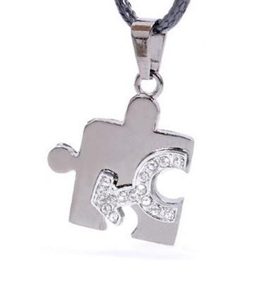 Male CZ Bling Puzzle Steel & Mars Symbol Men&#...