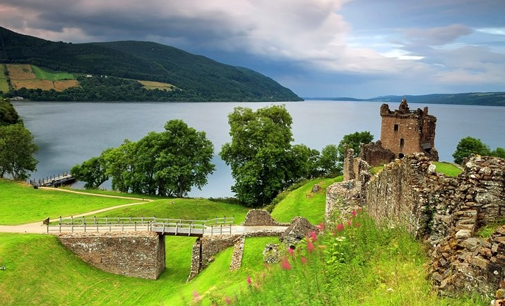 Loch Ness and Inverness