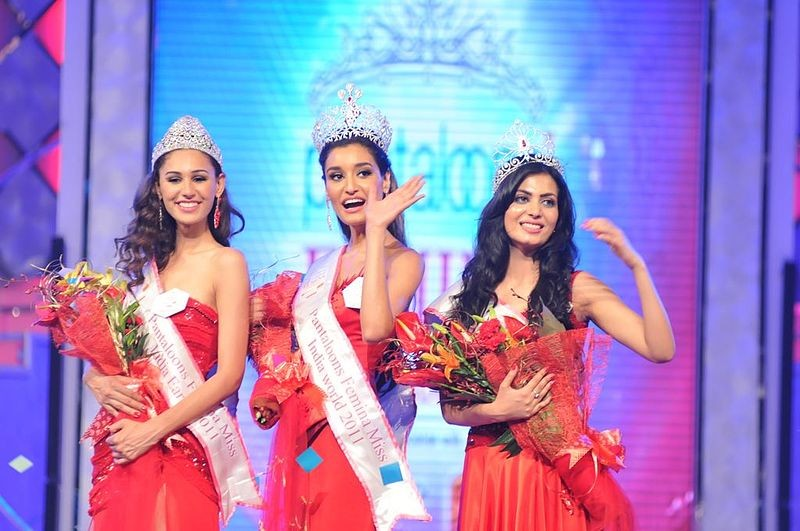 Femina Miss India 2011 winners (from left to right...