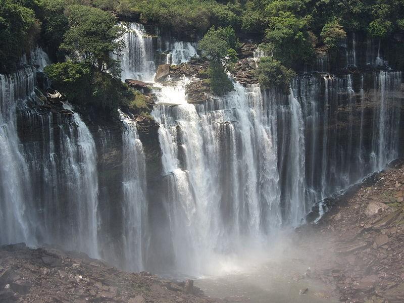 Kalandula Falls (formerly Duque de Bragança Falls)...