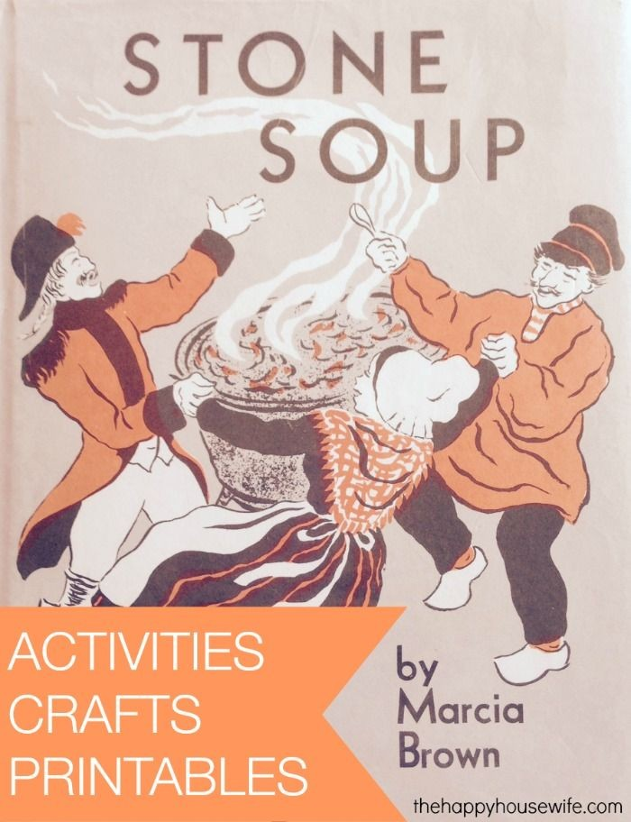 31 Days of Read-Alouds: Stone Soup with activities...