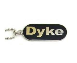 """Lesbian """"Dyke"""" Comical Lesbian Pride Bla..."""