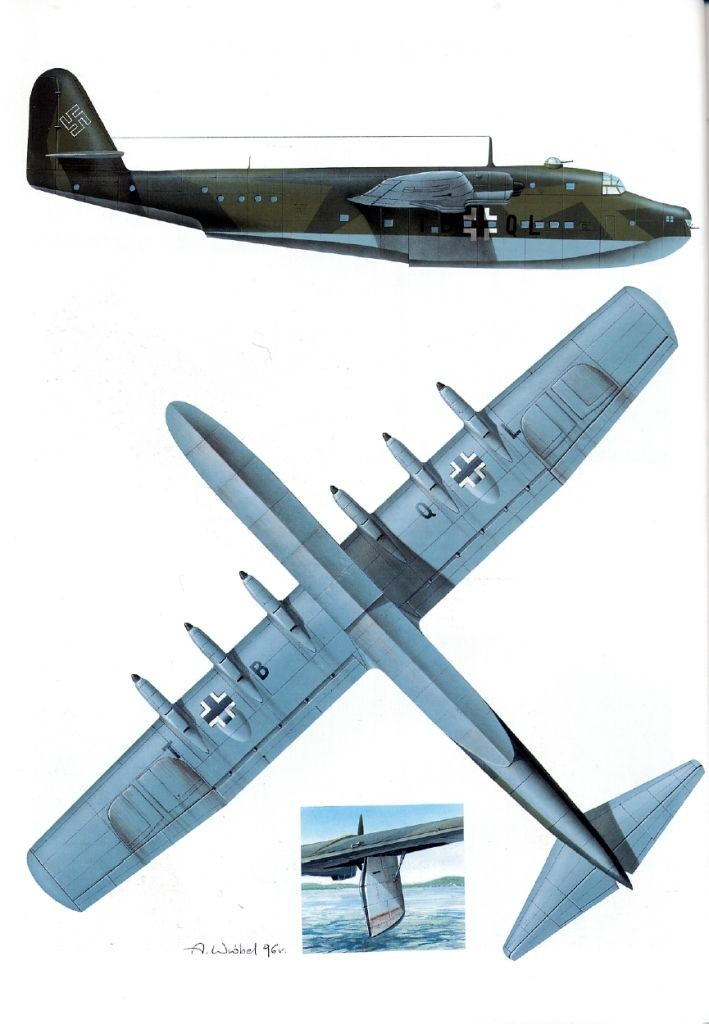 The Blohm & Voss BV 222 Wiking (Viking) was a...