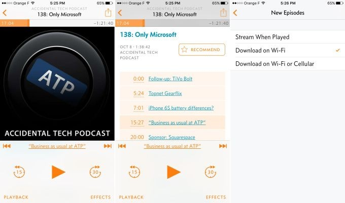 iOS Podcast App Overcast Adds Streaming Drops Pric...