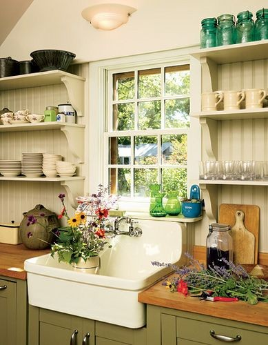 I'd rather have this humble kitchen than some slee...