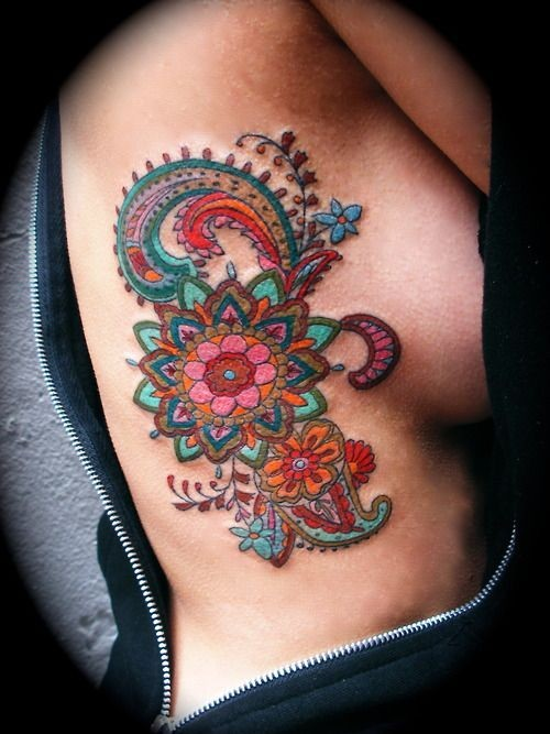 54 Absolutely Fabulous Colorful Tattoo Designs #co...
