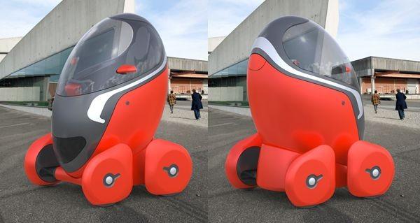 Bit bizarre but cool. The City Egg by Tomasz Mikru...