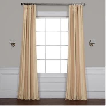 Bershire Faux Silk Stripe Curtain