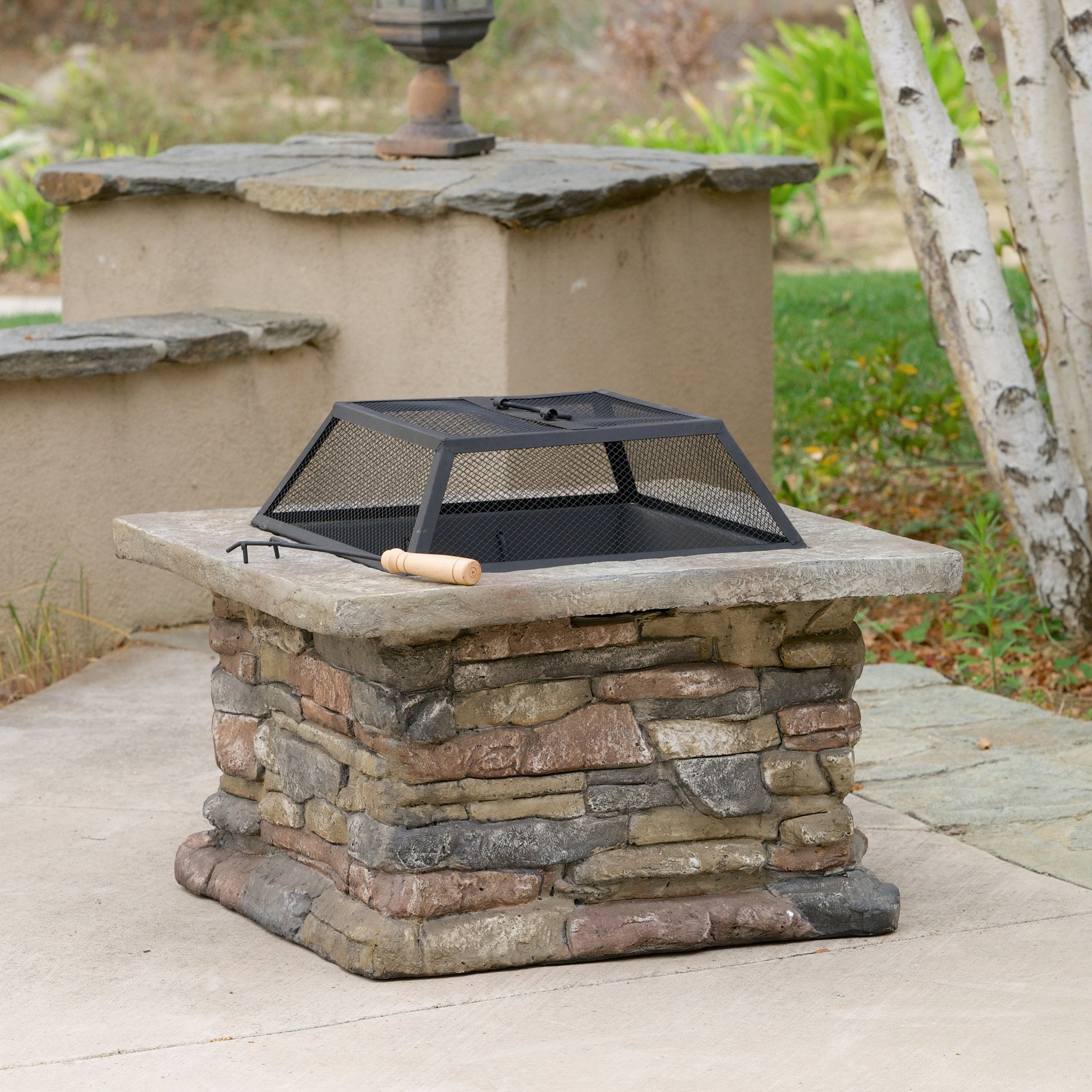 Tundra Natural Stone Fire Pit