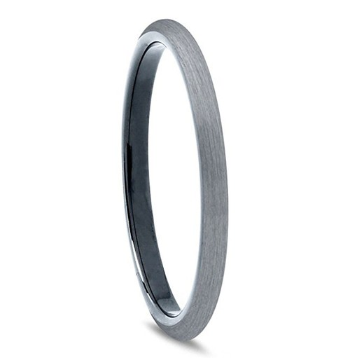 2mm - Unisex or Women's Tungsten Wedding Bands...