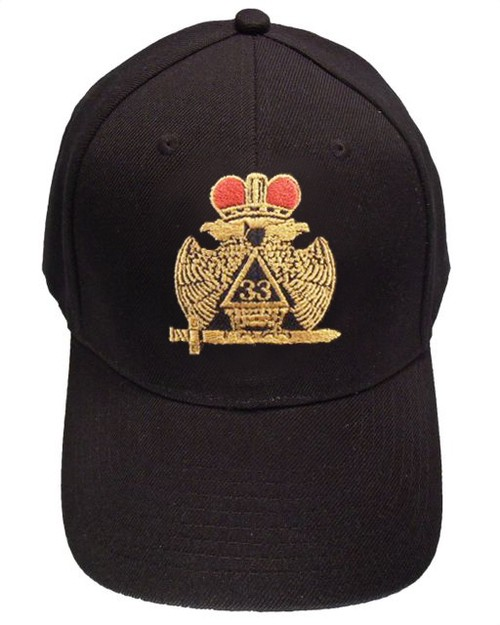 Masons Baseball Cap - Standard Scottish Rite Wings...