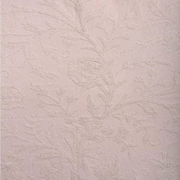 Aurora Embroidered Cotton Crewel Fabric