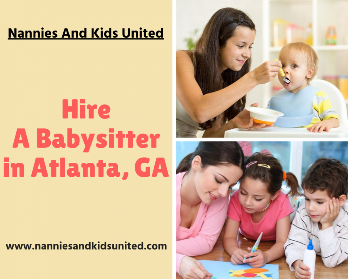 While hiring a babysitter for your child you must...