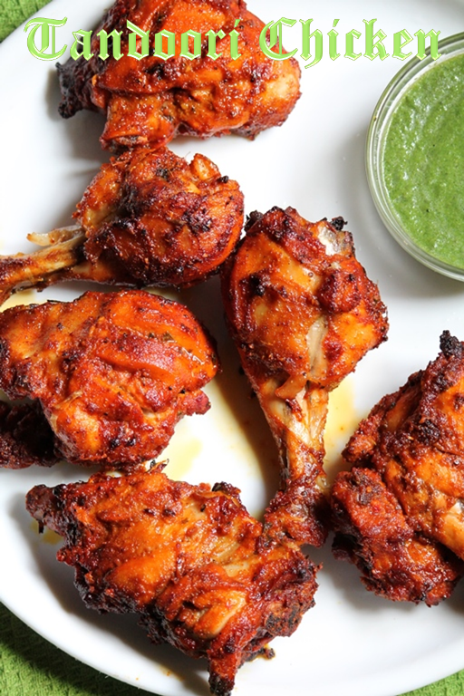 Tandoori Chicken Recipe - Yummy Tummy