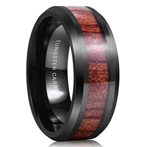 8mm - Unisex or Men's Tungsten Wedding Bands....