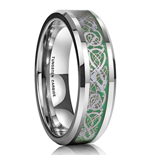 6mm - Unisex or Women's Tungsten Wedding Band....