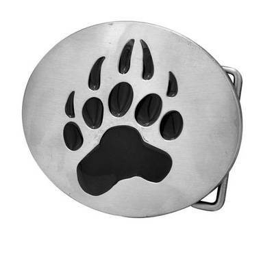 Bear Pride Oval Steel Belt Buckle - Gay Pride Clot...