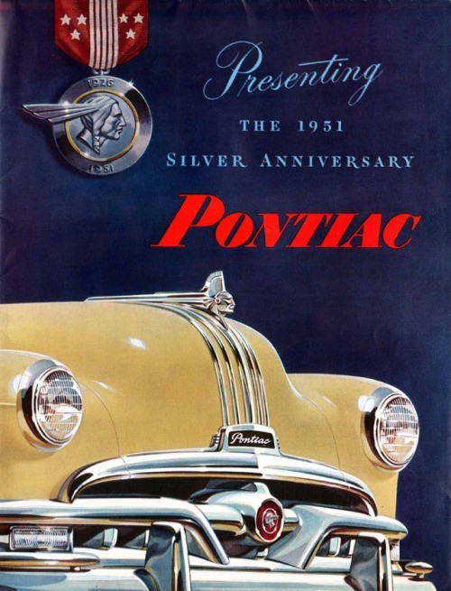 myfeedly: purepontiac:Pontiac turned 25 in 1951