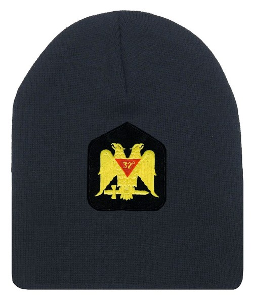 Masons Winter Hat - Standard Scottish Rite Wings D...