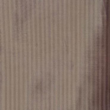 Cambridge Grey Silk Stripe Fabric