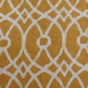 Tava Yellow Printed Sheer Fabric