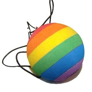 Rainbow Cat Ball Toy for Cats / Kittens - LGBT Gay...