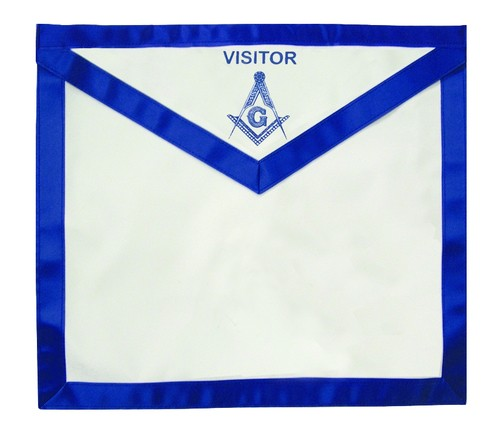 Masonic Visitor - Blue Lodge White and Blue Duck C...
