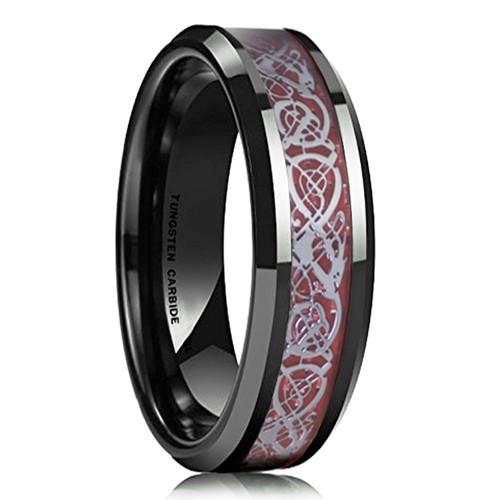 6mm - Unisex or Women's Wedding Band. Celtic W...