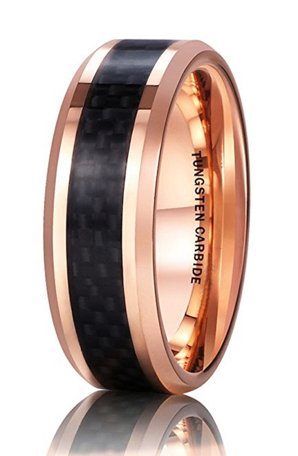 8mm - Unisex or Men's Tungsten Wedding Band. 1...
