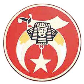 Freemasons Car Emblem / Masonic Shriners symbol. F...