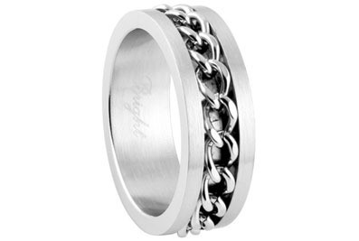 Chain Link Ring - Top Quality Steel Motorcycle Got...