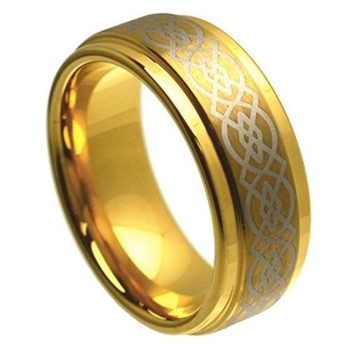 8mm - Unisex or Men's Tungsten Ring Wedding Ba...