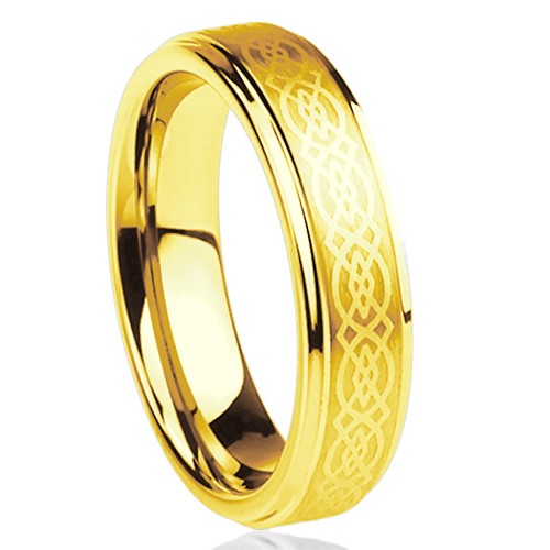 6mm - Unisex or Women's Tungsten Wedding Band....