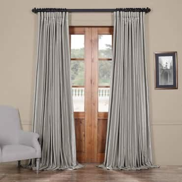Silver Blackout Extra Wide Vintage Textured Faux D...