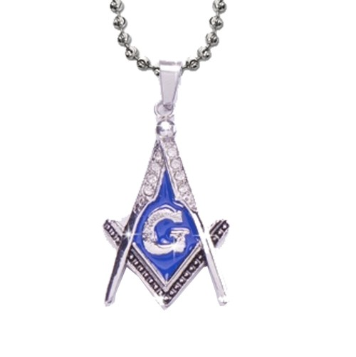Steel Blue Color Stainless Steel Blissful Pendant...