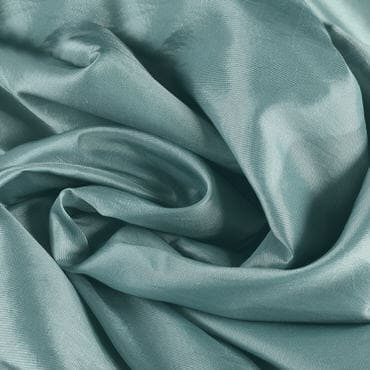 Robin's Egg Faux Silk Taffeta Fabric