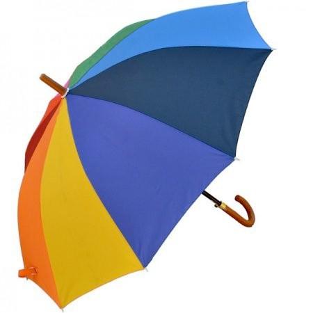 Large Rainbow Panel Gay Pride Umbrella - LGBT Gay...