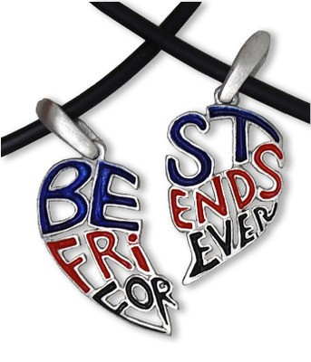 Two Piece - Dark Cut Out - Best Friends Forever (B...