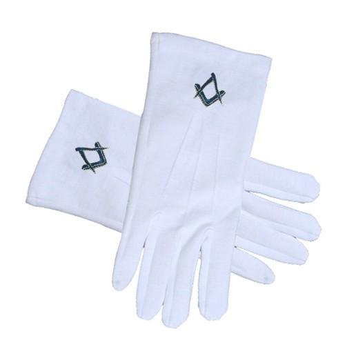 Masonic Standard Elegant Plain Blue Style Square a...