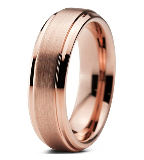 6mm - Unisex or Women's Tungsten Wedding Bands...