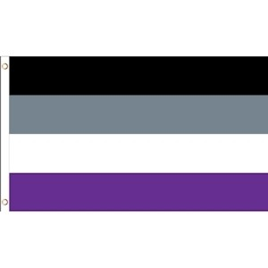 Asexual Pride - 3 x 5 Polyester Flag LGBT Parade F...