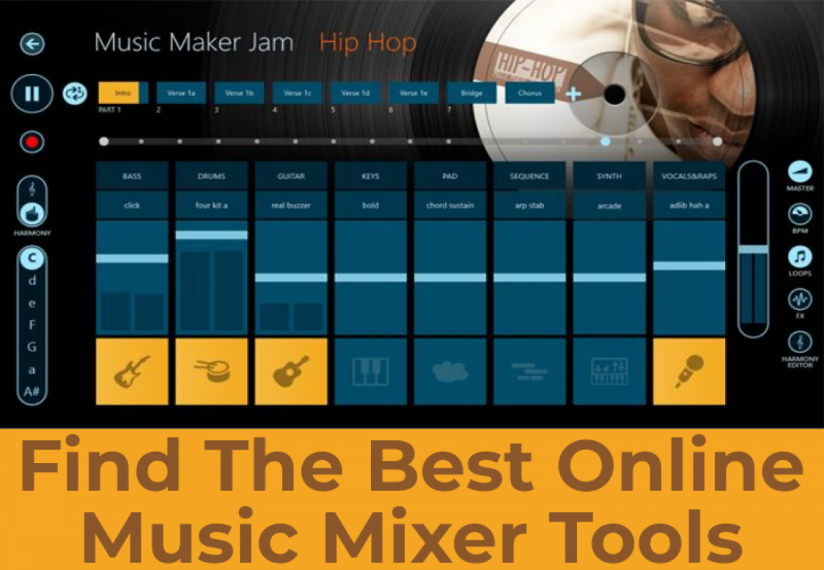 No more need to search for online music mixer tool...