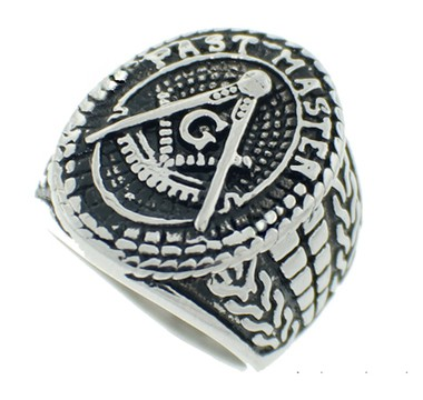 Freemason Ring / Mason's Ring - Past Master Te...